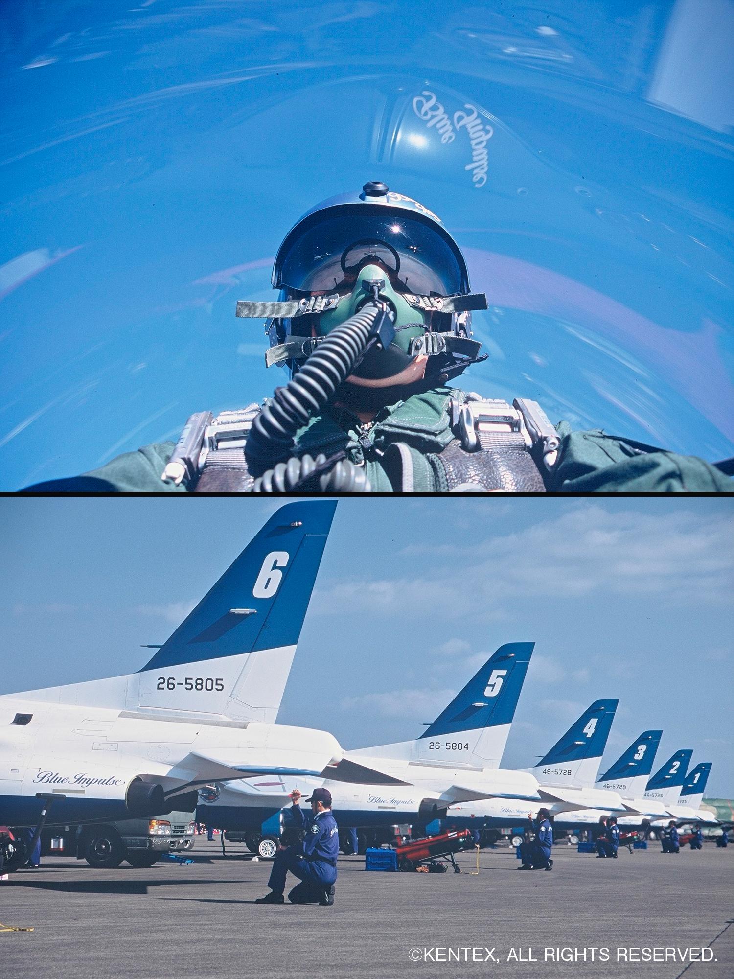 ブルーインパルスパイロット 整備
