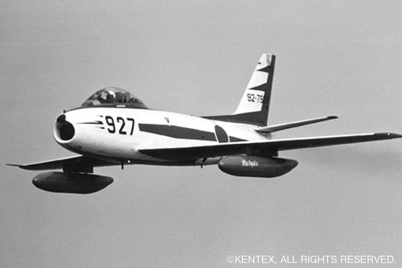 ブルー史上唯一の現役戦闘機